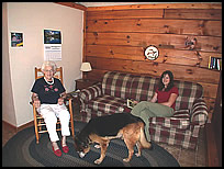 pet-friendly cabins